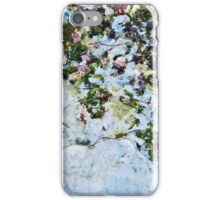 Claude Monet - Roses 1825  iPhone Case/Skin