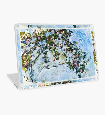 Claude Monet - Roses 1825  Laptop Skin