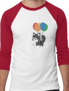 Balloon Husky Men's Baseball ¾ T-Shirt