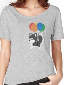 Balloon Husky Women's Relaxed Fit T-Shirt