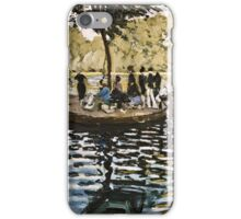Claude Monet - La Grenouillere  iPhone Case/Skin