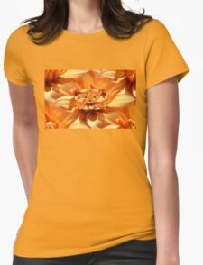 DAHLIA REDUX Womens Fitted T-Shirt
