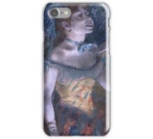 Edgar Degas - La Chanteuse Verte (The Singer In Green) iPhone Case/Skin
