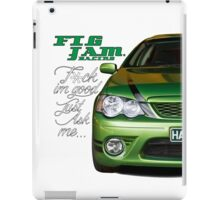 one of fig jams daily drivers iPad Case/Skin
