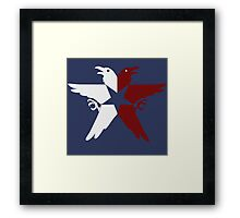 Don't Fret, Its Banner Man! Framed Print