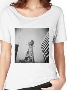 日立タワー Women's Relaxed Fit T-Shirt