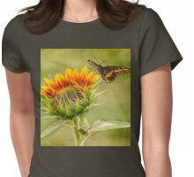Young Sunflower Womens Fitted T-Shirt