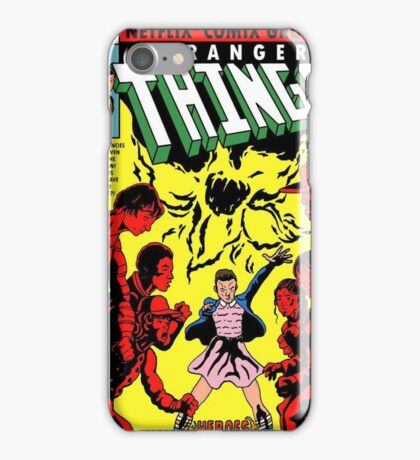 strangerthings iPhone Case/Skin