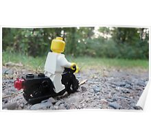 Lego Bike Poster