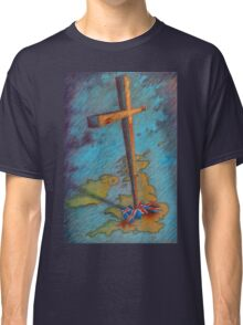 The Cross and the Union Jack Classic T-Shirt