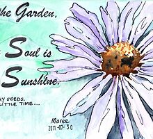 Country Diary - In the garden, my soul is sunshine by Maree Clarkson