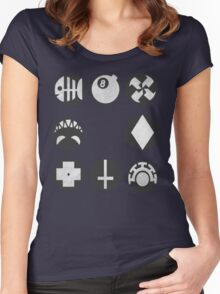 Skullgirls Icons Women's Fitted Scoop T-Shirt