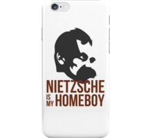 Nietzsche is My Homeboy iPhone Case/Skin