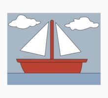 Sailboat - The Simpsons Baby Tee