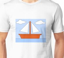 Sailboat - The Simpsons Unisex T-Shirt