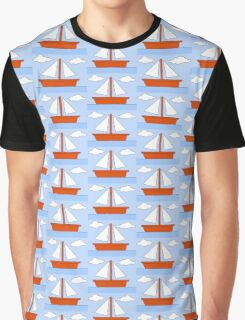 Sailboat - The Simpsons Graphic T-Shirt