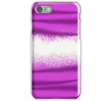 Pink and purple striped madness iPhone Case/Skin