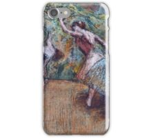 Edgar Degas - Ballet Scene iPhone Case/Skin