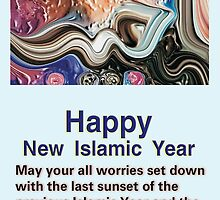 Happy New Year by HAMID IQBAL KHAN