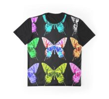 Moths of Many Colours Graphic T-Shirt