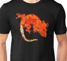 Red Dalmation Crested Gecko Unisex T-Shirt