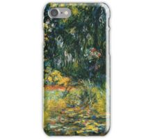 Claude Monet - Water Lily Pond 2 iPhone Case/Skin