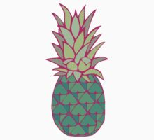 Colorful Pineapple by MZawesomechic