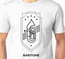 Baritone - Black & Gray Unisex T-Shirt