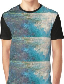 Claude Monet - The Water Lilies - The Clouds (1915 - 1926)  Graphic T-Shirt