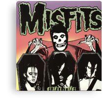MISFIT COVER Canvas Print