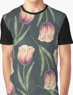 Tulip pattern1 Graphic T-Shirt