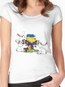 Ferald and The Bunnies Women's Fitted Scoop T-Shirt