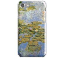 Claude Monet - Water Lilies 1919 4 iPhone Case/Skin