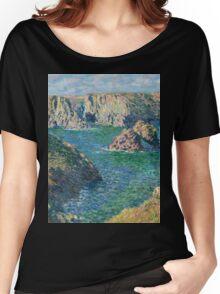 Claude Monet - Port Donnant Belle Ile Women's Relaxed Fit T-Shirt