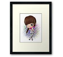 i love you Bom Framed Print