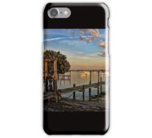 Dock On The Bay  iPhone Case/Skin