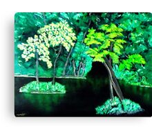 Emerald Island  Canvas Print