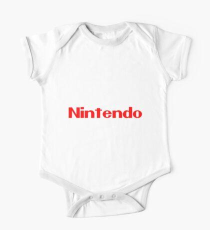 Nintendo Logo Merch UNOFFICIAL One Piece - Short Sleeve