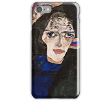 Egon Schiele - Mourning Woman (1912)  iPhone Case/Skin