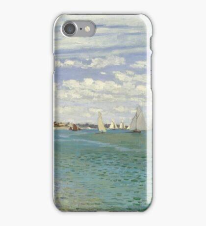 Claude Monet - Regatta At Sainte Adresse 1867 iPhone Case/Skin