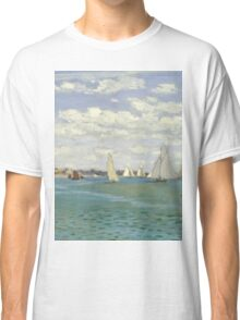 Claude Monet - Regatta At Sainte Adresse 1867 Classic T-Shirt
