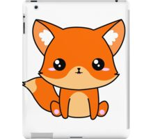 Cute Fox iPad Case/Skin