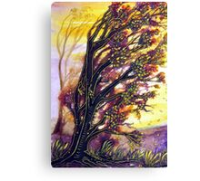 Trees in the Breeze Canvas Print