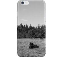 give me a home, where the buffalo roam.  iPhone Case/Skin