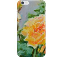Roses in Hobart's Botanical Gardens iPhone Case/Skin