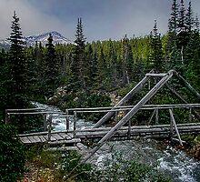 Bridge over Lindeman Creek by Yukondick