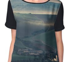 travel landscape Chiffon Top