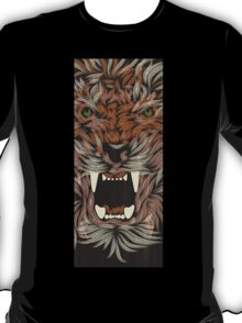 tiger lilly line colour T-Shirt