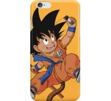 GOKU TAKES A SELFIE iPhone Case/Skin