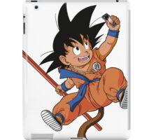GOKU TAKES A SELFIE iPad Case/Skin